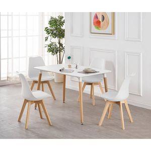 TABLE À MANGER COMPLÈTE Ensemble Table de Salle à Manger Complet - Table B