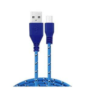 CÂBLE TÉLÉPHONE Cable Tresse 1m Micro-USB pour Casque sans fil Stu