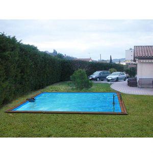 Piscine bois hors sol 40m3 achat vente piscine bois hors sol 40m3 pas cher cdiscount for Piscine bois cdiscount