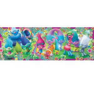 PUZZLE Puzzle 250 pièces panoramique : La parade des Trol