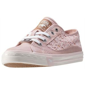 BASKET Mustang Low Top With Emroidery Femmes Baskets Rose