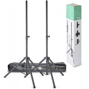 SUPPORT ENCEINTES SONO 2 Stands Enceintes Stagg SPS-0620 BK