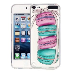 COQUE MP3-MP4 Coque souple iPod Touch 6th 5th 5 Macarons Motif I