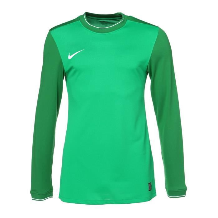 NIKE T-shirt Manches longues club Goalie - Homme - Vert