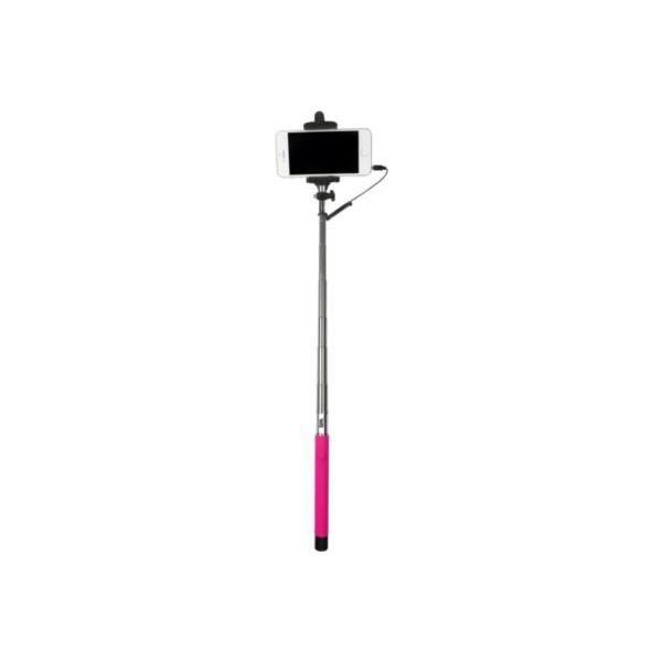 WE Bras Selfie - Longueur 22.5 à 100.5 cm - Compatible IOS 4.0 / Android 3.0 - Fushia