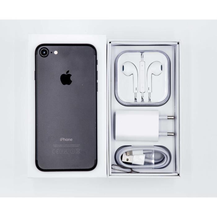 958ef39e7a7202 IPhone 7 32 Go - Noir mat reconditionné - Achat smartphone recond ...
