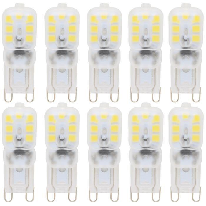 10x g9 ampoule led dimmble 2 5w economie d energie 5 Superbe Economie Ampoule Led Zat3