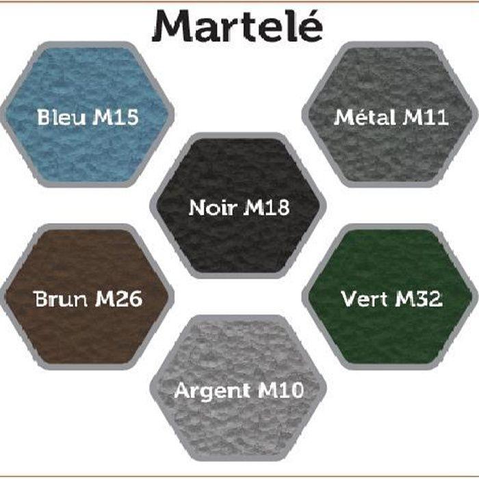 Peinture L Fer Martel Bleu Direct Sur Rouille  Achat  Vente