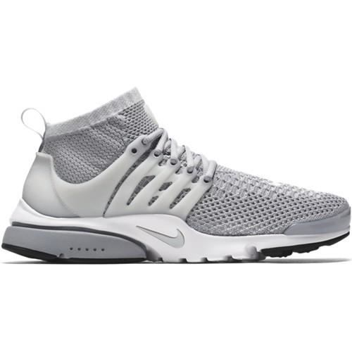 on feet at presenting newest nike presto flyknit grise
