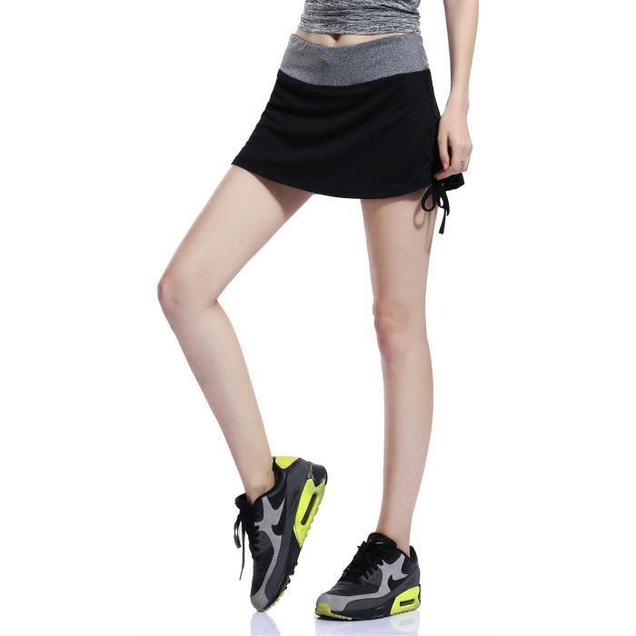 dd245386473df9 HonourSport-Jupe-short de Sport en Mesh Jupe Femme Sexy