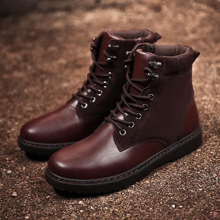 Bottine De Neige Haut Qualité Chaussure Garde Au Chaud Nouvelle arrivee Jeunesse Intéressant zenOo