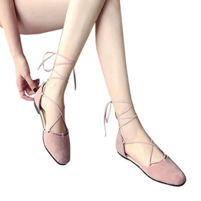 Femmes Croix Base De Chaussures Bracelet rose Plates Romaines Bandage Peu Bouche Sandales xym80516902pk Profonde Chaussures xrvSF0rqtw
