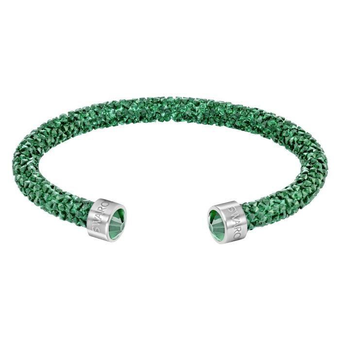 Bracelet Swarovski Crystaldust Émeraude M