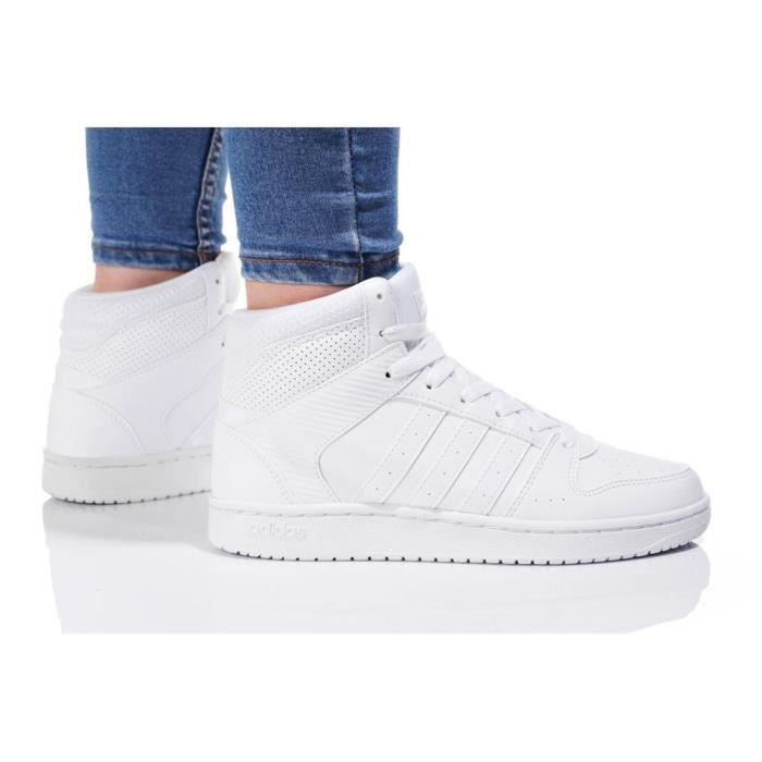 Chaussures Adidas VS Hoopster Mid W
