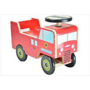 porteur pompier achat vente jeux et jouets pas chers. Black Bedroom Furniture Sets. Home Design Ideas