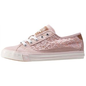 Mustang Low Top With Emroidery Femmes Baskets Rose - 39 EU S0Djm