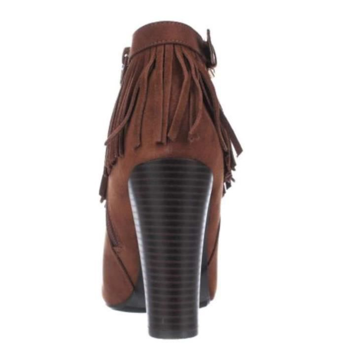 Womens Persia Round Toe Ankle Suede Fashion Boots NFX7K Taille-37 1-2 tajAHqNqvF