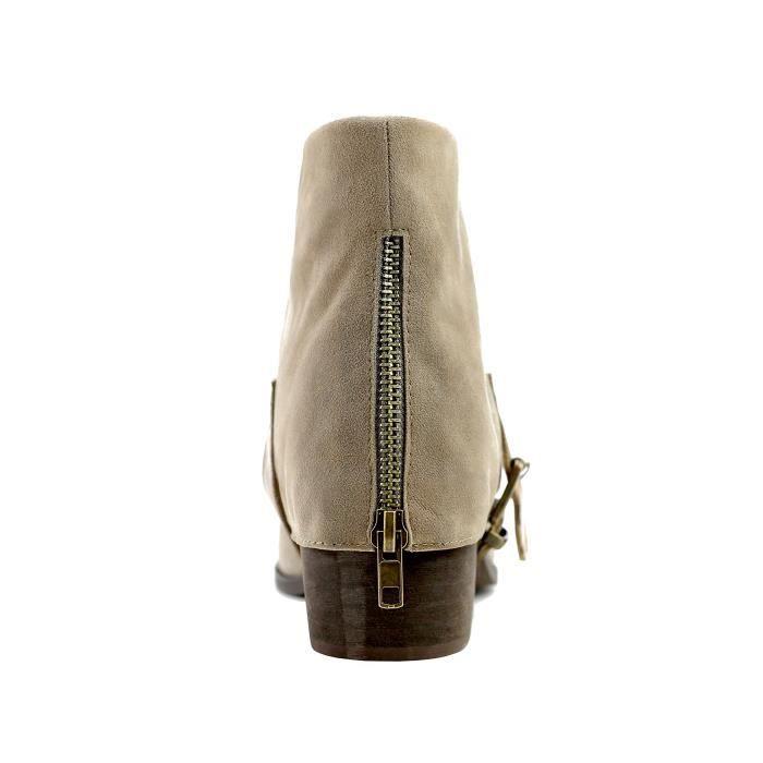 Le Fold-sur bottillons fond boucle de Cypress N73MV Taille-37