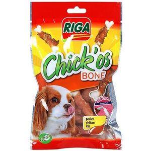 RIGA Chick'os Bones Friandises pour chien - Sachet 80 g