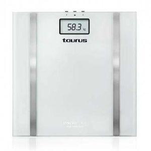 TAURUS 990.537 P?se-personne électronique blanc de haute précision Syncro Glass