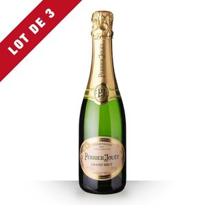 CHAMPAGNE 3x Perrier-Jouët Grand Brut - 3x37,5cl - Champagne