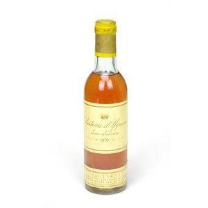 VIN BLANC 1979 - Château d'Yquem (demi-bouteille - #0897