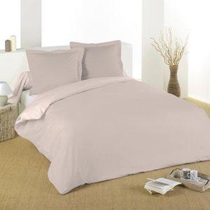 couette couleur lin achat vente couette couleur lin pas cher cdiscount. Black Bedroom Furniture Sets. Home Design Ideas
