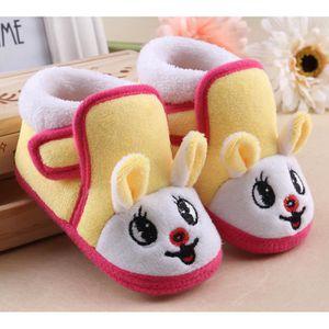 ours brun chaussures d'hiver maison chaleureuse et charmante caricature cotton pantoufles VYnDDad