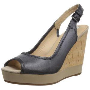 4b4972e4b01e60 Chaussures compensees talons en liege - Achat   Vente pas cher