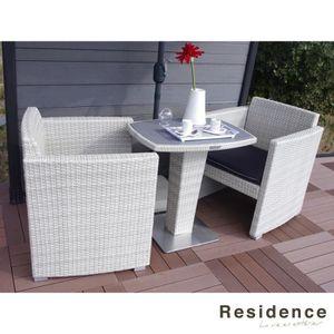 Salon de jardin pour balcon achat vente salon de - Salon de jardin special balcon ...