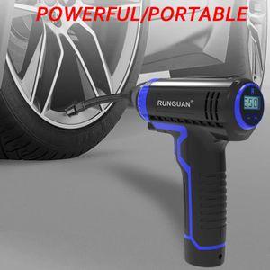 COMPRESSEUR AUTO LED Auto Compresseur D'air Portable sans fil avec