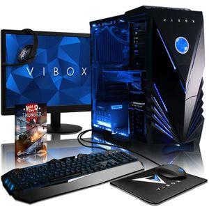 UNITÉ CENTRALE + ÉCRAN VIBOX Submission Pack 29XSW PC Gamer - AMD 8-Core,
