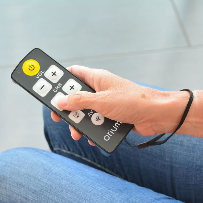 hestec 23376 t l commande universelle t l commande tv. Black Bedroom Furniture Sets. Home Design Ideas
