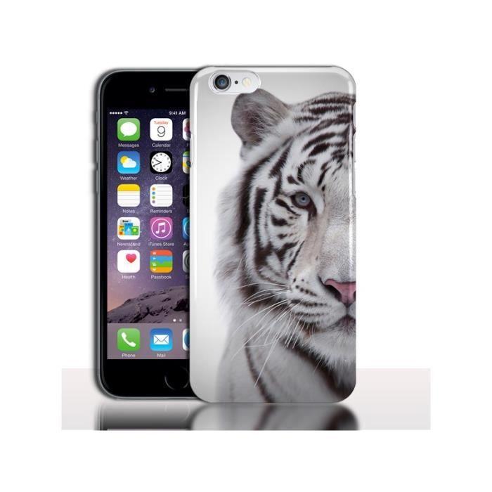 coque iphone 6 tigre blanc