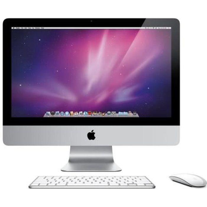 """ORDINATEUR TOUT-EN-UN iMac 21,5"""" A1311 Intel Core 2 Duo 2009"""