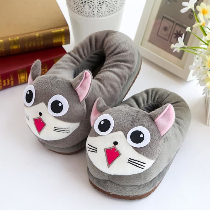 joli ménage coton pantoufles pour femmes Uvy9VF