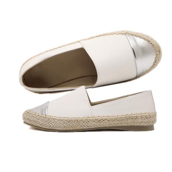 réduction jusqu'à 60% tout à fait stylé bonne qualité Chaussures Plat Espadrille Ballerines Mocassins Cuir ...