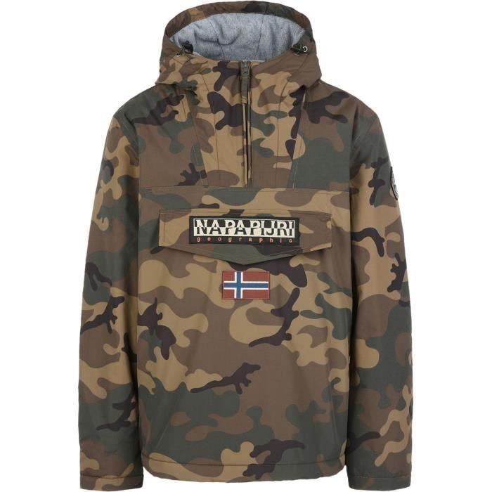99fd9617eb7 Napapijri Rainforest Winter Jacket Camouflage - Achat   Vente ...