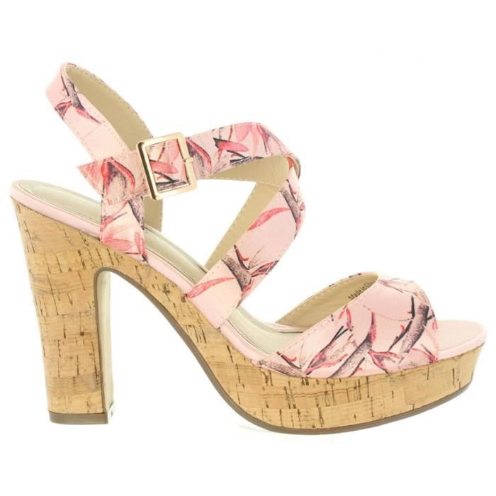 Sandales pour Femme Sprox 396213-B6600 NUDE v7fe6Nh2