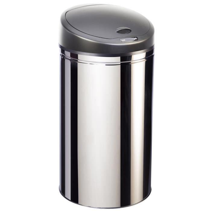 POUBELLE - CORBEILLE Robby - poubelle à ouverture automatique en inox 4
