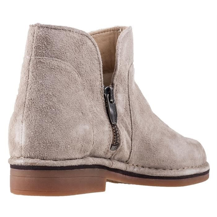 Claudia Catelyn, Bottes Femme, Beige (Taupe), 41 EUHush Puppies
