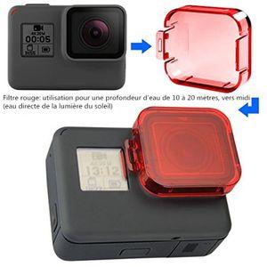 PACK ACCESSOIRES PHOTO 6 Pack plongée Lentille Filtres pour GoPro Hero  5,