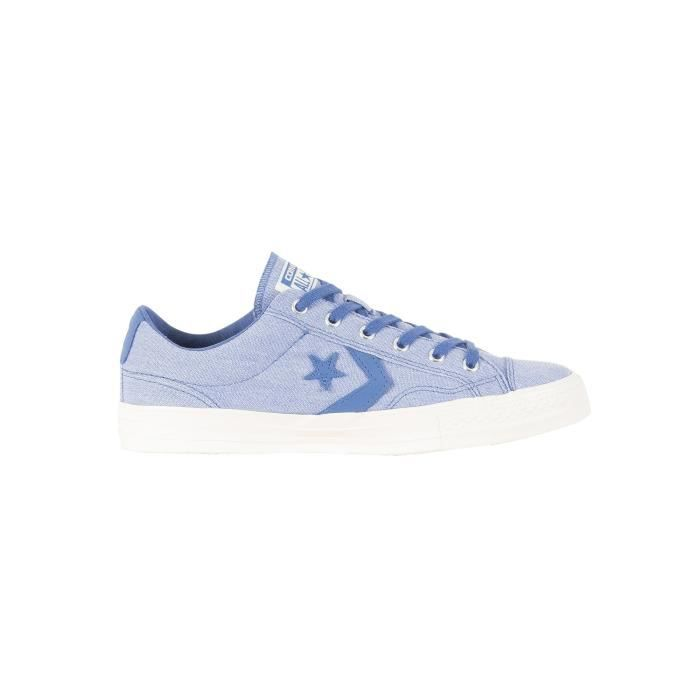 Converse Homme Star Player OX Trainers, Bleu