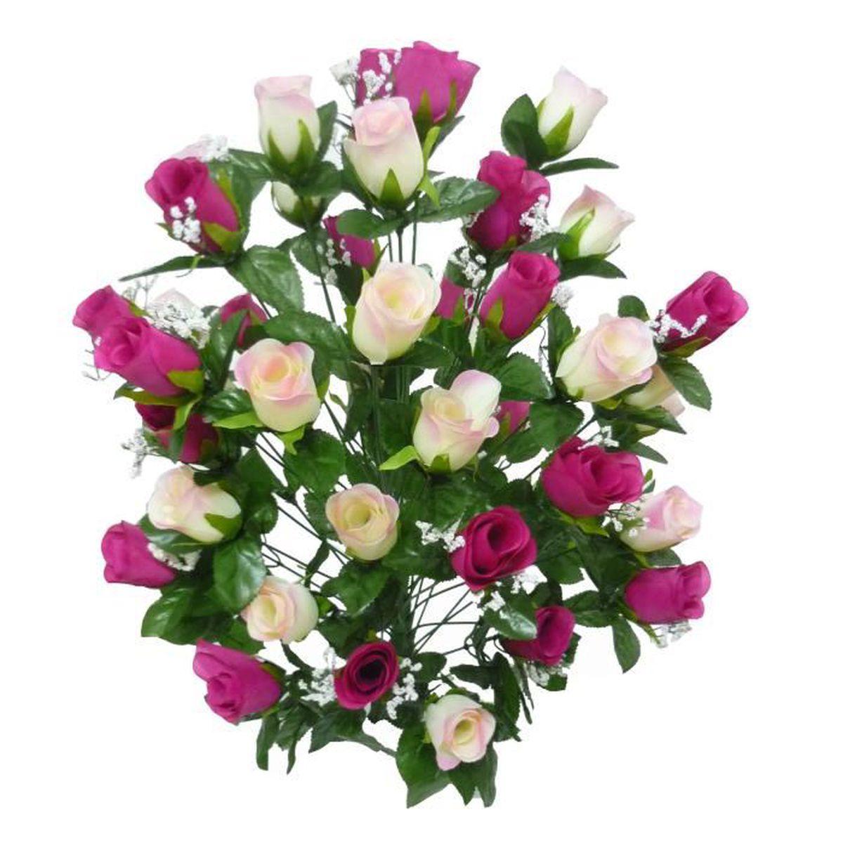 Bouquet fleur artificielle special cimetiere et toussaint for Fleurs vente