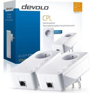 DEVOLO CPL filaire 1200 Mbit /s- Mod?le 9377 dLAN 1200+