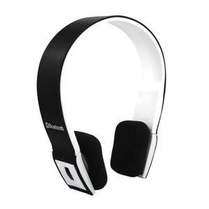CASQUE  - MICROPHONE Tera écouteur casque audio bluetooth 3.0 sans fil