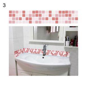 Stickers mosaique salle de bain - Achat / Vente pas cher