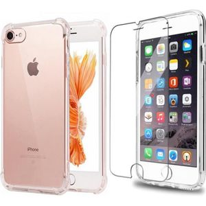 coque iphone 8 transparente en verre