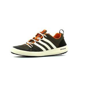 adidas - Terrex CC Boat - Chaussures de sports d'eau taille 7,5, noir/gris/blanc