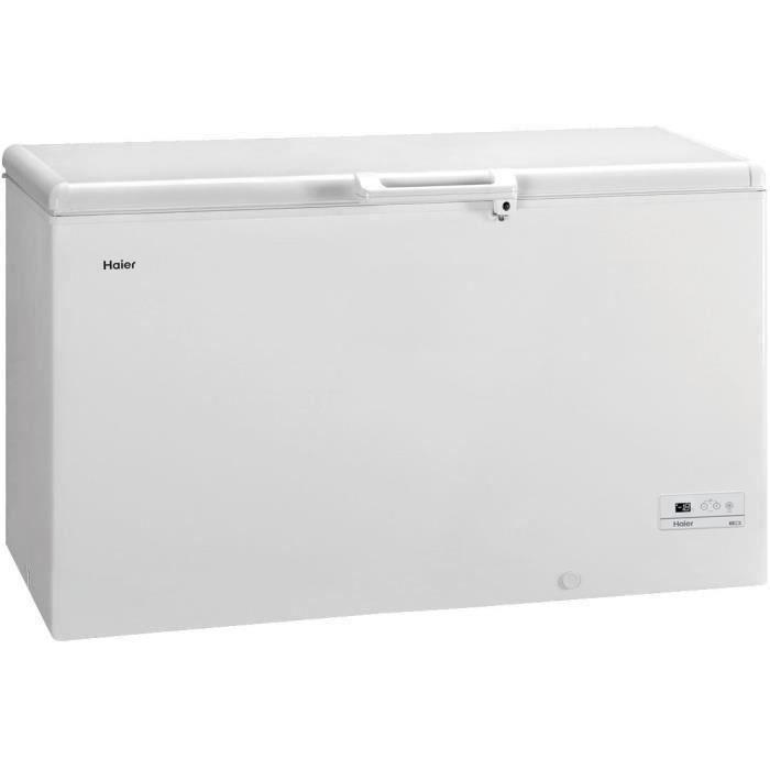 HAIER BD519RAAE - Congélateur coffre - 519L - Froid Statique - A+ - L165 x H84,5 cm - Blanc